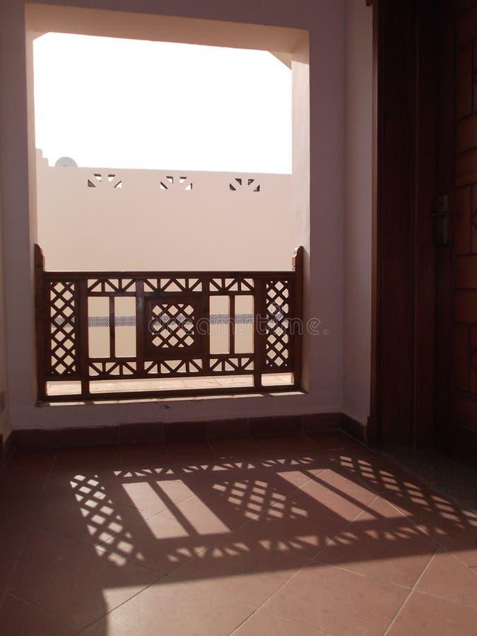 Sombra particular na arquitetura de Egito imagem de stock royalty free