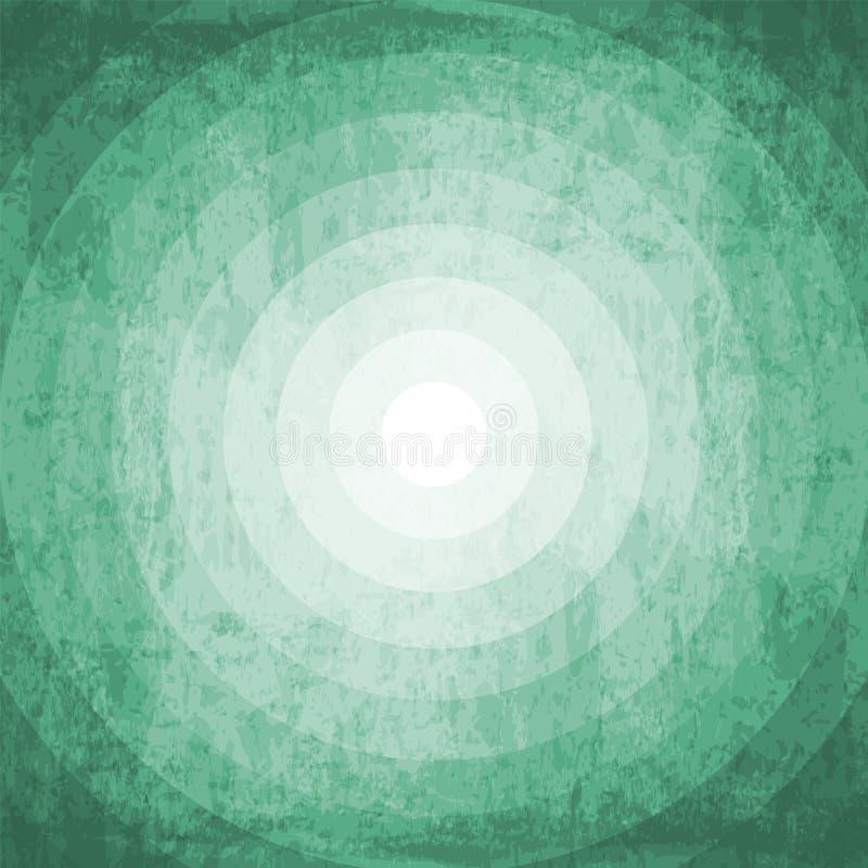 Sombra verde background1 ilustración del vector
