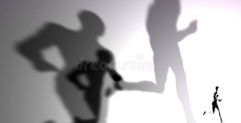 Sombras ilustración del vector