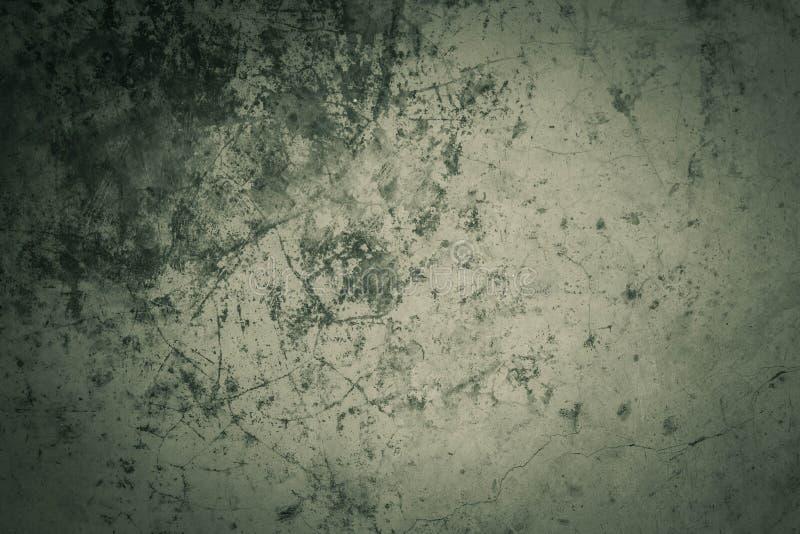 Sombras concretas del fondo del verde foto de archivo libre de regalías