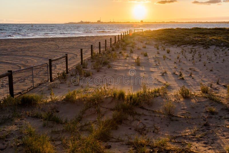 Download Sombras Da Carcaça Do Por Do Sol No ` Da Praia Foto de Stock - Imagem de costa, alvorecer: 65580480
