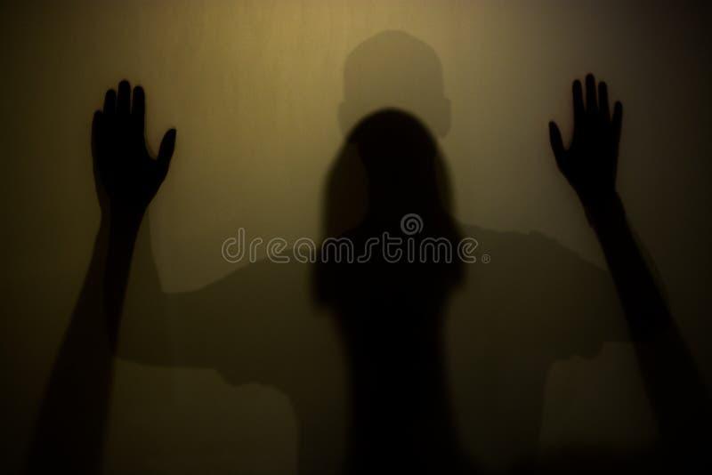 Sombras da pessoa fotos de stock