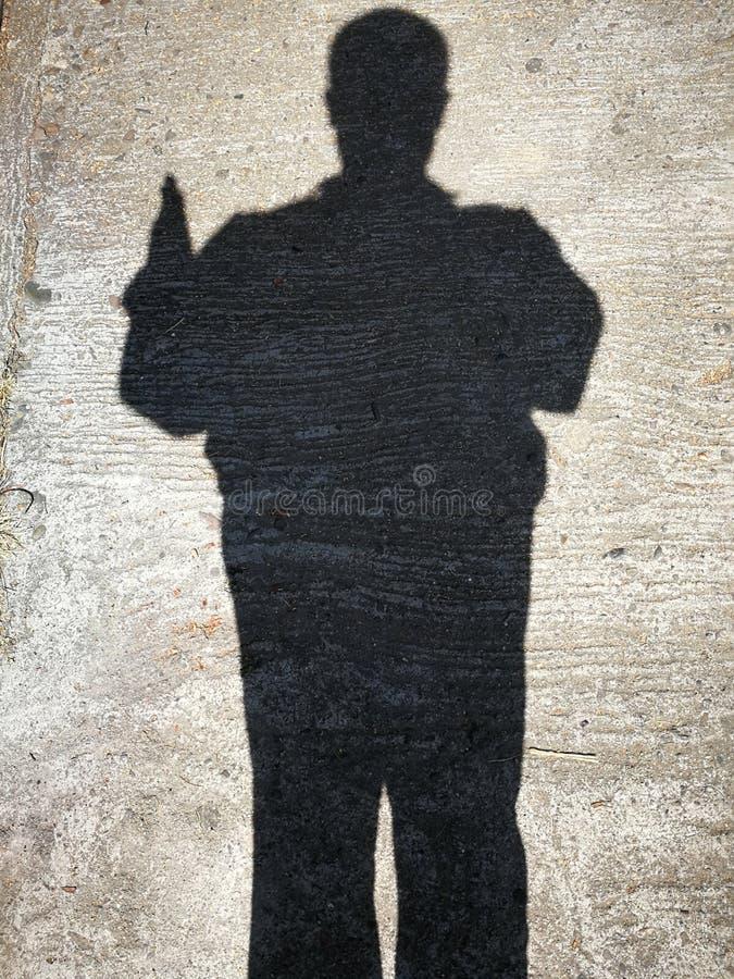 Sombras de la gente fotos de archivo