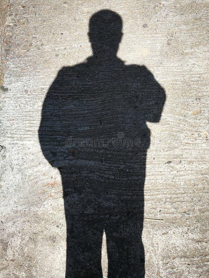 Sombras de la gente foto de archivo libre de regalías