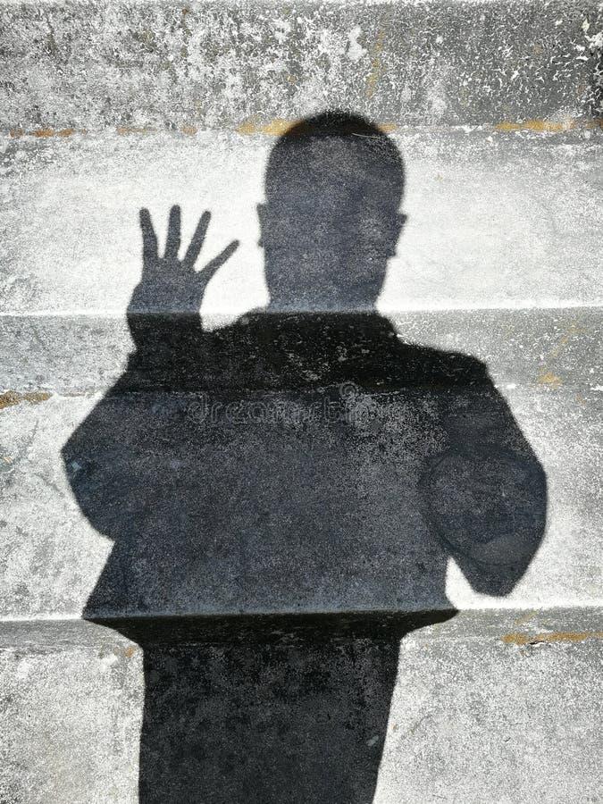 Sombras de la gente imagen de archivo