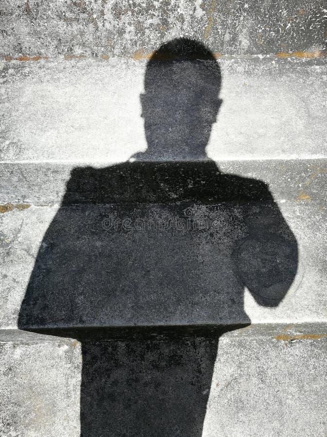 Sombras de la gente imágenes de archivo libres de regalías