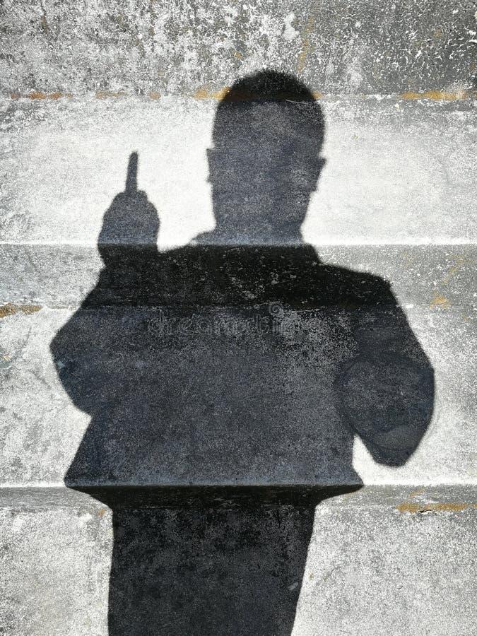 Sombras de la gente fotografía de archivo