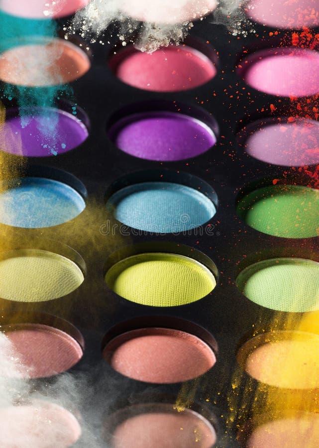 Sombras de ojo multicoloras fotos de archivo libres de regalías