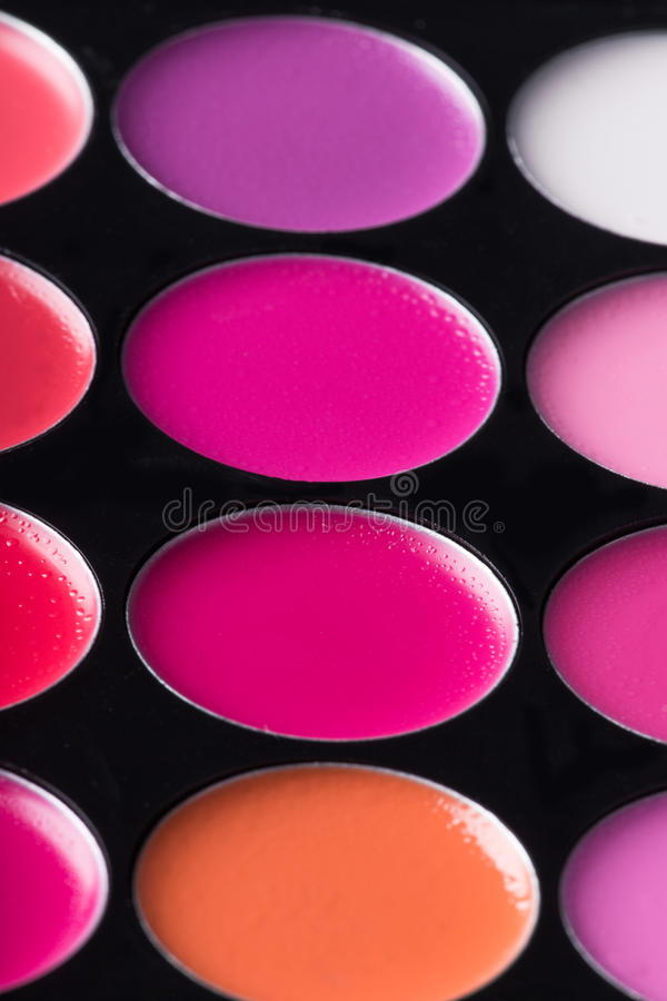 Sombras de ojo multicoloras foto de archivo libre de regalías