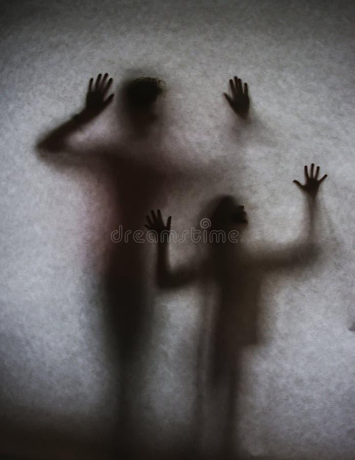 Sombras dos povos imagem de stock royalty free