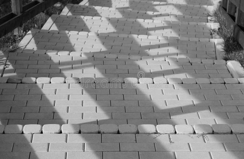 Sombras en las escaleras foto de archivo libre de regalías