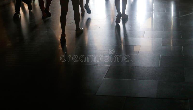 Sombras na terra imagens de stock royalty free