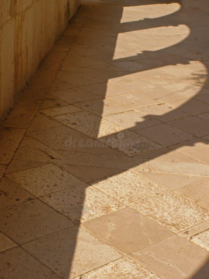 Sombras no assoalho fotos de stock royalty free