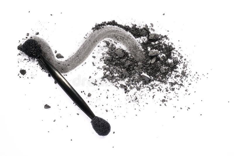 Sombreador de ojos gris oscuro fotografía de archivo libre de regalías