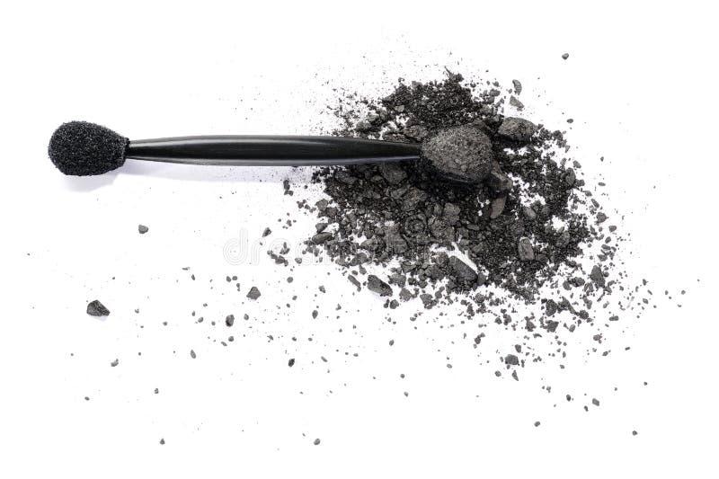 Sombreador de ojos gris oscuro imagenes de archivo