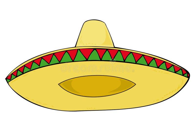 Download Sombrero. stock vector. Illustration of latin, ornament - 14080312