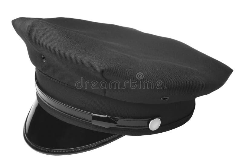 Sombrero americano de la policía imágenes de archivo libres de regalías