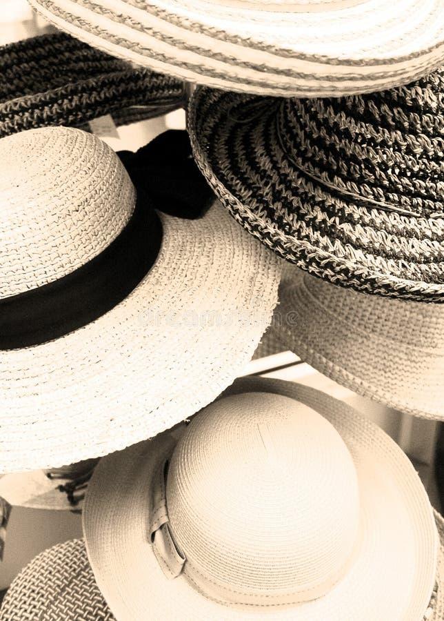 Sombrero apagado a usted imagenes de archivo