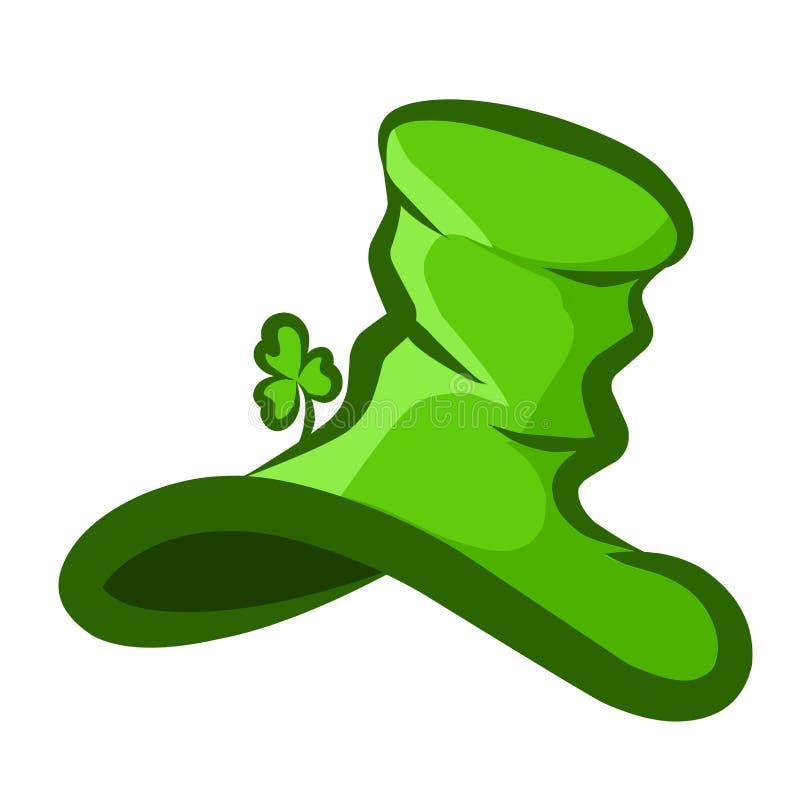 Sombrero común St Patrick del ejemplo stock de ilustración