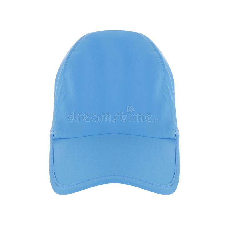 Sombrero de béisbol azul fotos de archivo