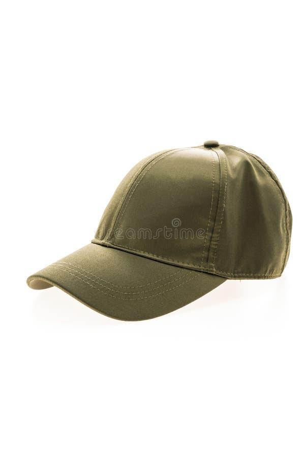 Sombrero de béisbol para la ropa fotografía de archivo libre de regalías