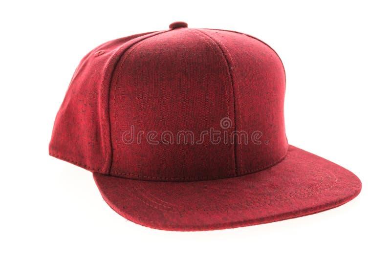Sombrero de béisbol para la ropa imagenes de archivo