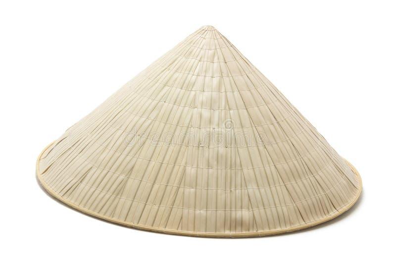 Sombrero de bambú fotografía de archivo libre de regalías