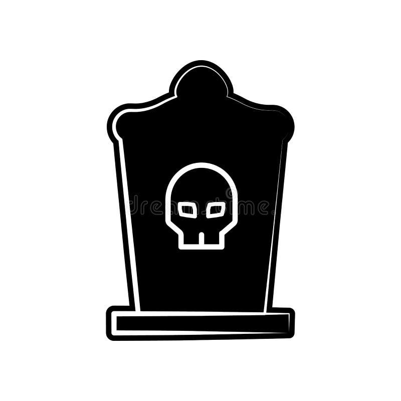 Sombrero de copa, icono del rasgón Elemento de dia de muertos para el concepto y el icono móviles de los apps de la web Glyph, ic ilustración del vector