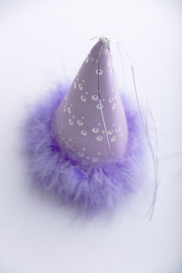 Sombrero de la fiesta de cumpleaños foto de archivo libre de regalías