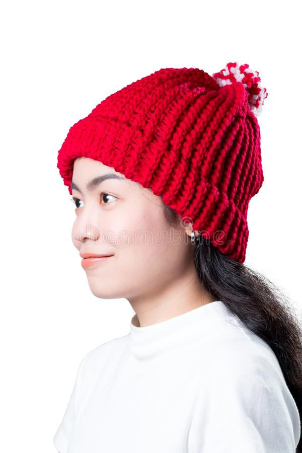 Sombrero de las lanas foto de archivo