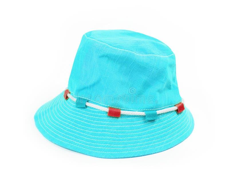 Sombrero de Panamá aislado en blanco foto de archivo libre de regalías