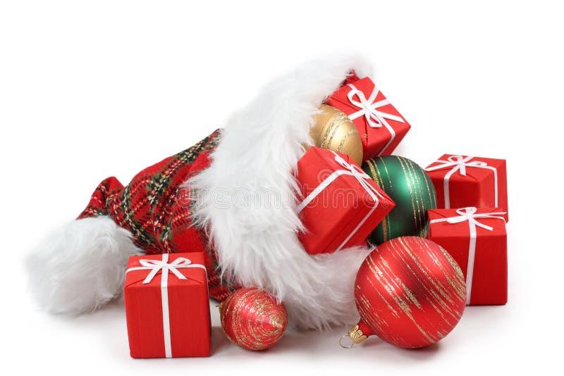 Sombrero de Papá Noel foto de archivo libre de regalías