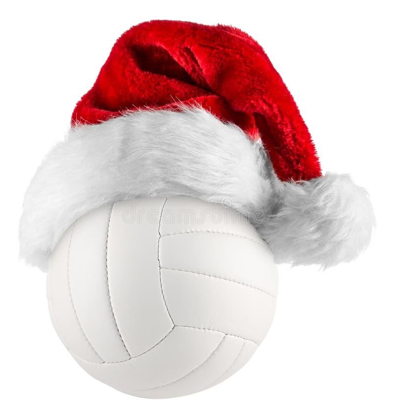 Sombrero de santa del voleibol foto de archivo libre de regalías
