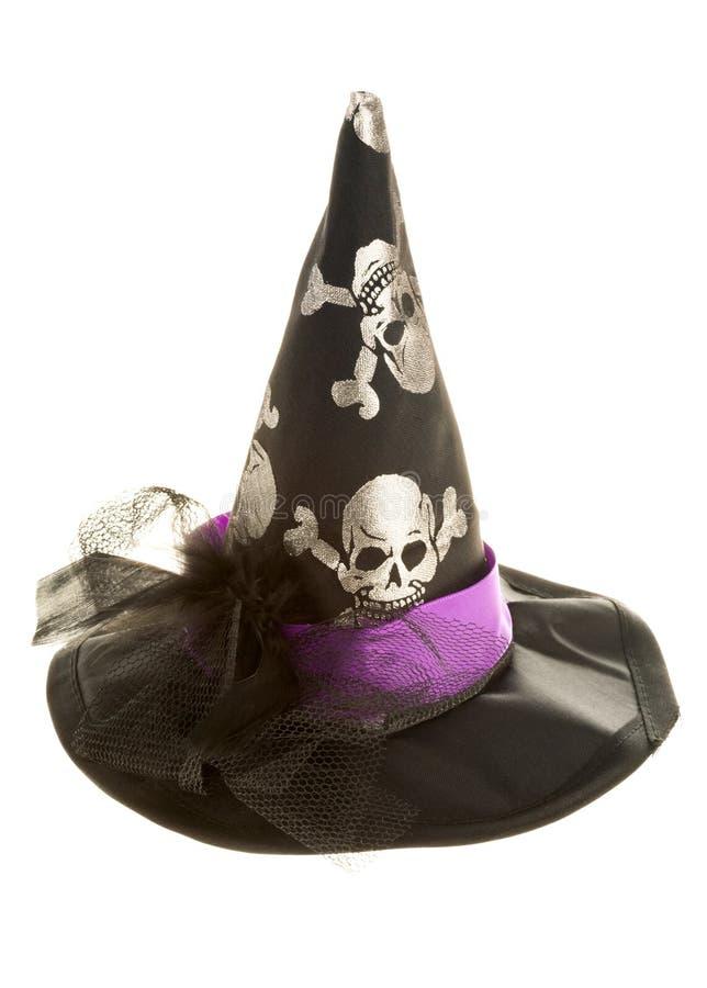Sombrero de Víspera de Todos los Santos imágenes de archivo libres de regalías