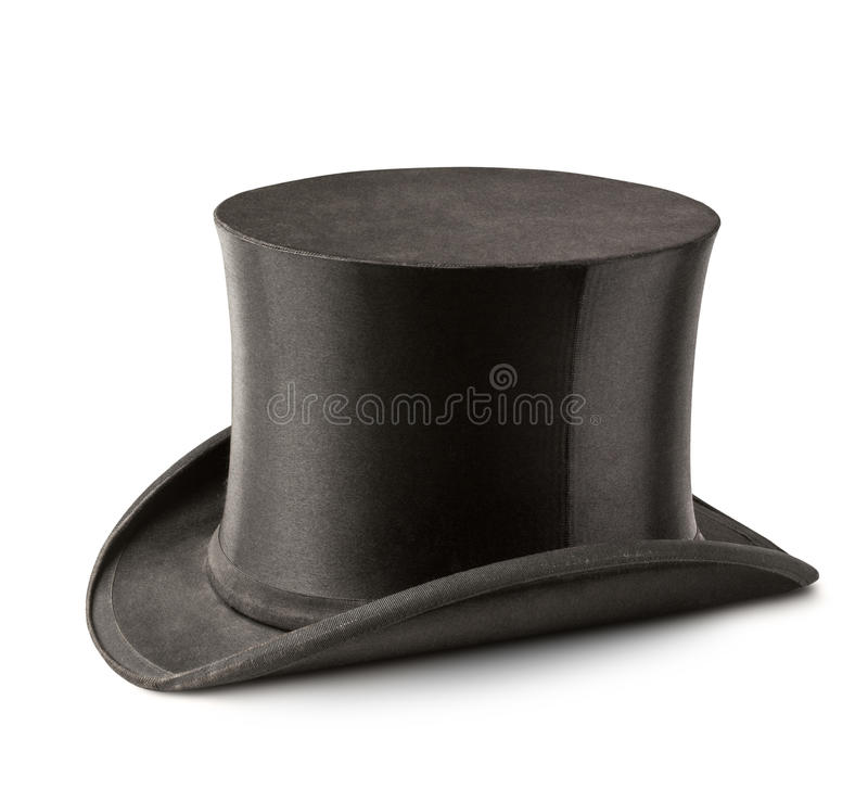Sombrero del cilindro foto de archivo libre de regalías