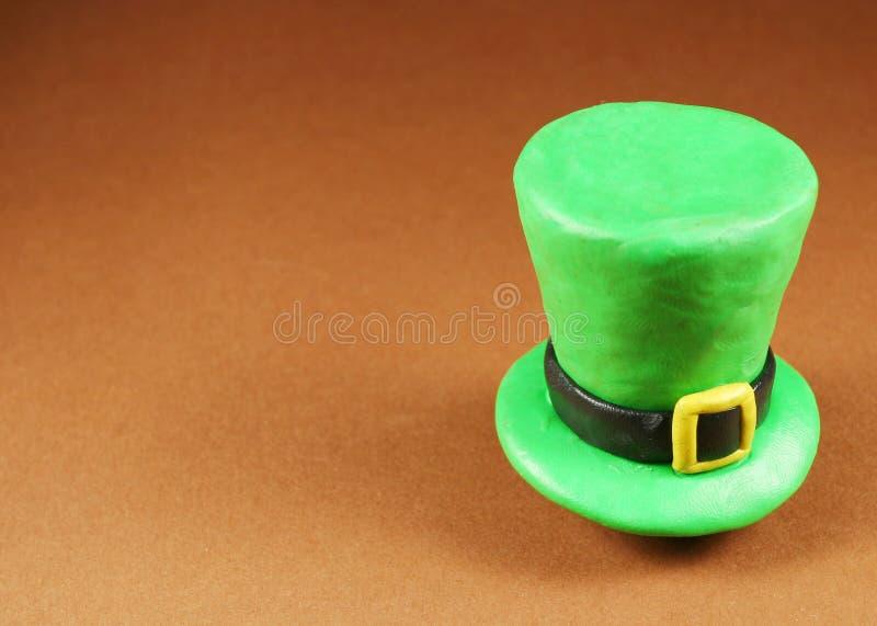 Sombrero del día del St. Patrick fotografía de archivo libre de regalías