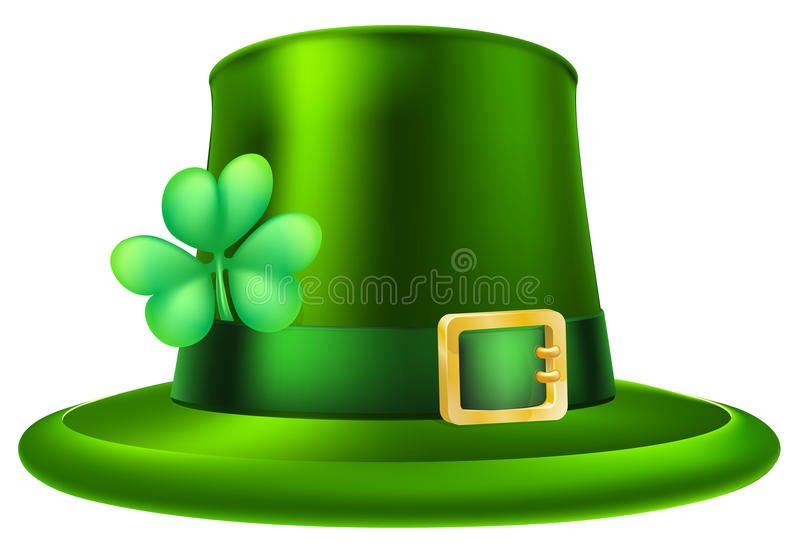 Sombrero del día del St Patricks stock de ilustración