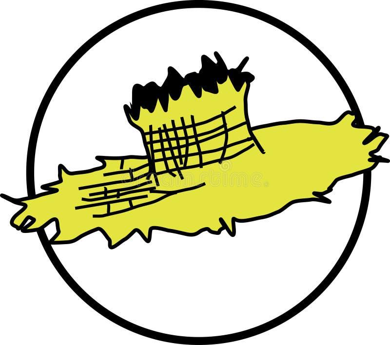 Sombrero del granjero ilustración del vector