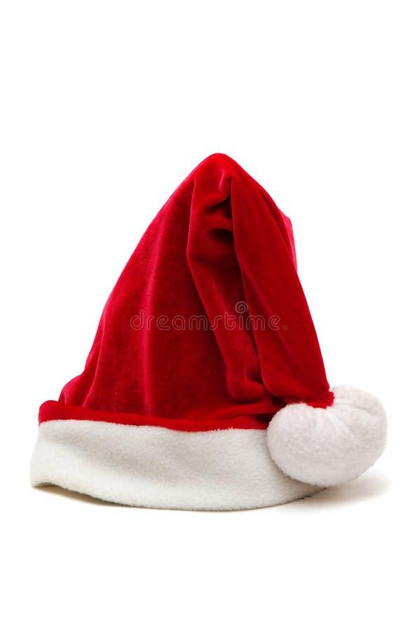 Sombrero del rojo de la Navidad fotografía de archivo libre de regalías