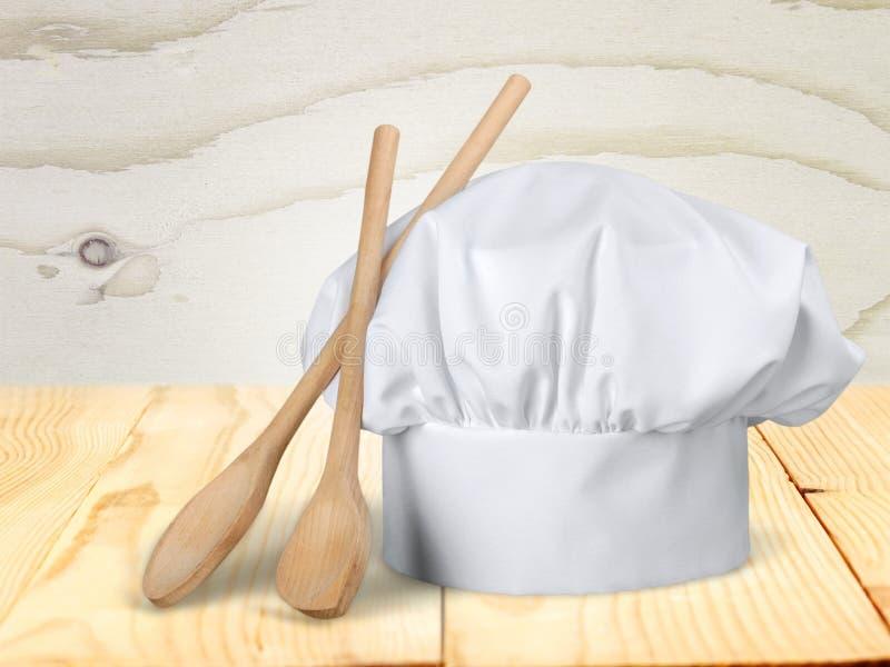 Sombrero del ` s del cocinero fotografía de archivo libre de regalías