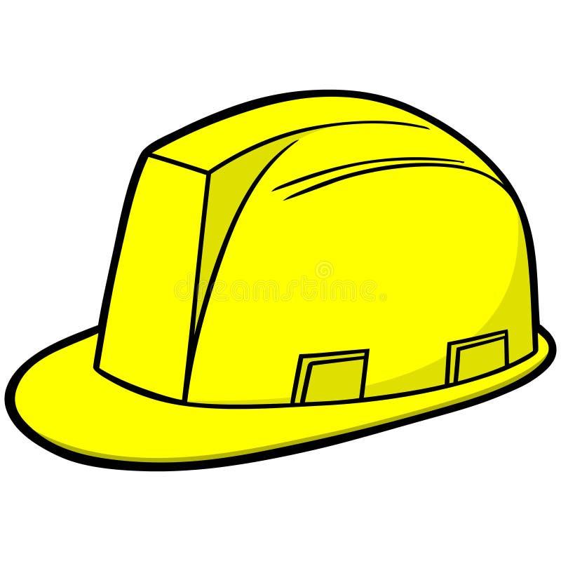 Sombrero duro de la construcción stock de ilustración
