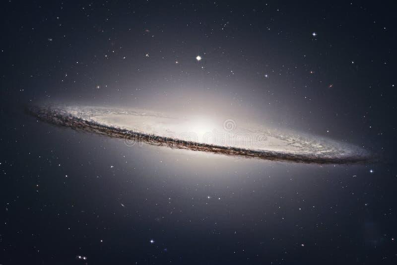 Sombrero-Galaxie M104 in Konstellation Jungfrau lizenzfreies stockfoto