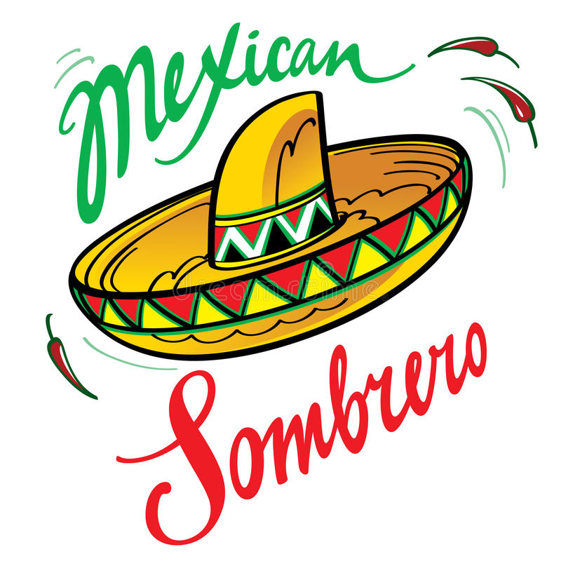 Sombrero mexicano fotografía de archivo