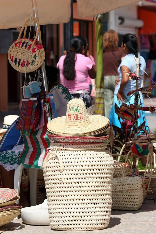 Sombrero in Mexico royalty free stock photo