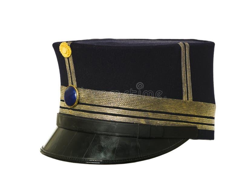 Sombrero militar imagen de archivo