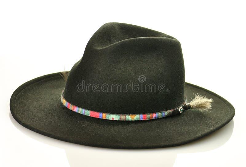 Sombrero negro imagenes de archivo