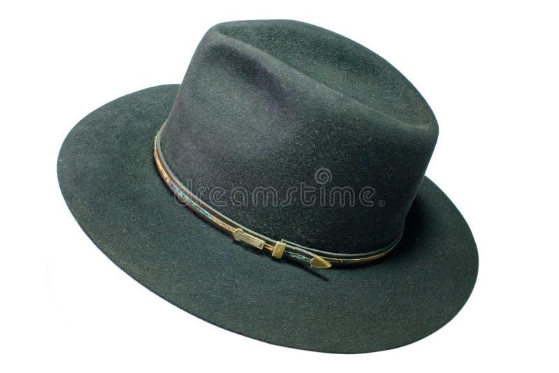 Sombrero negro fotos de archivo libres de regalías