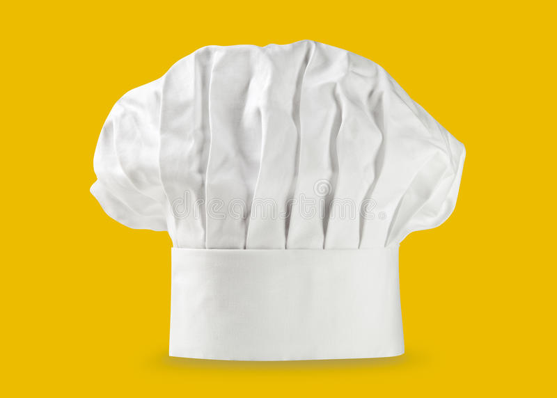 Sombrero o toca del cocinero fotos de archivo