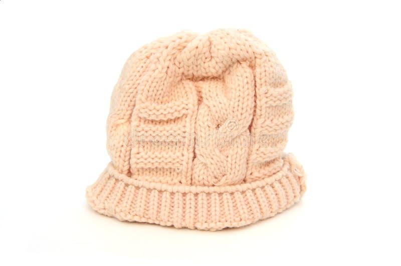 Sombrero poner crema del invierno imagen de archivo