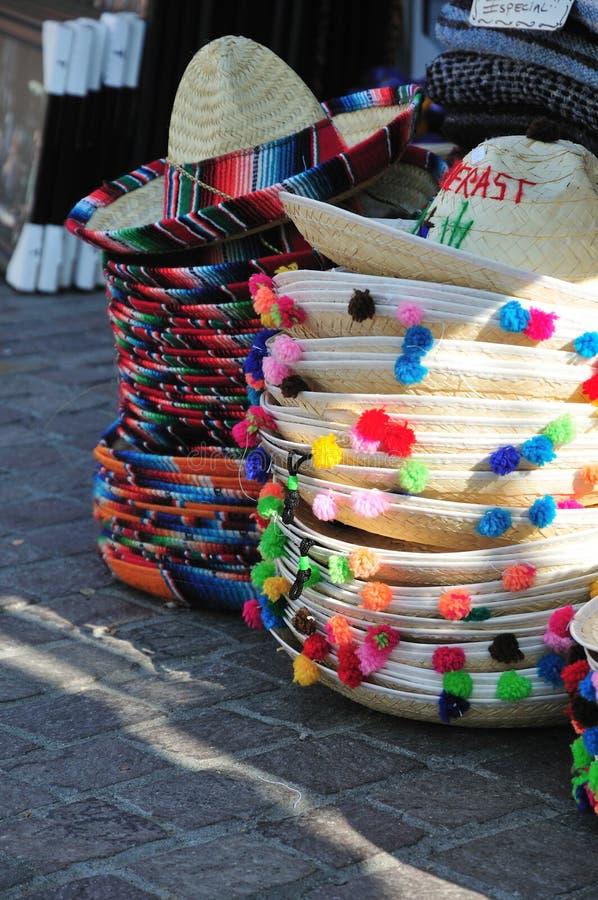 Sombrero's royalty-vrije stock afbeeldingen